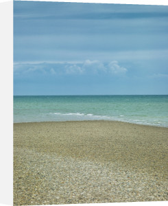 Horizon above the shoreline by Assaf Frank
