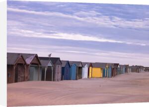 Beach Huts, West Wittering Beach, UK by Assaf Frank