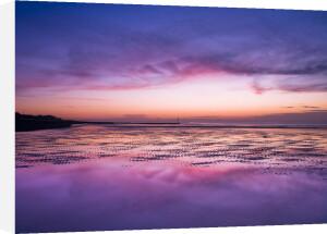 Sunrise at beach, Littlehampton England by Assaf Frank