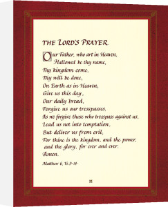 The Lord's Prayer by Anonymous