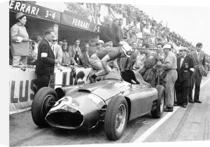 British Grand Prix at Silverstone, 1956 by Alan Smith