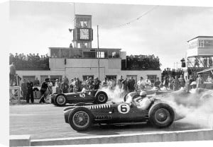 The Woodcote Cup at Goodwood, 1952 by Alan Smith