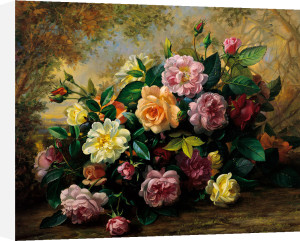 Floral Bouquet I by Albert Williams