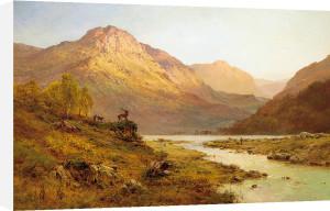 Morning, Invernesshire by Alfred de Breanski
