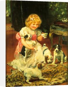 Tea-Time by Arthur Elsley