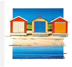 Boat Shed Colour by Bernie Walsh