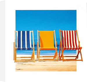 Summer Stripes by Bernie Walsh