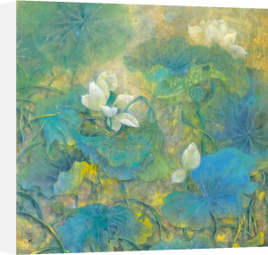 Summer Lotus by Cai Xiaoli