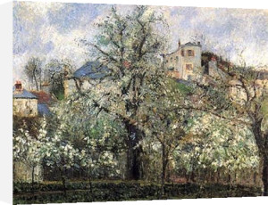 Spring Blossom by Camille Pissarro