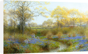 Picking Bluebells by Charles Gregory