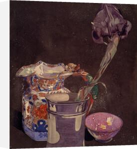 Grey Iris by Charles Rennie Mackintosh