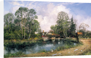 Old Cottage, Flatford Mill by Clive Madgwick