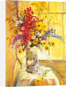 Floral Window by Elizabeth Parsons