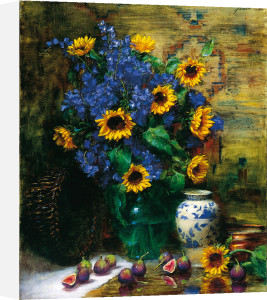 Sunflowers and Figs by Frank Janca