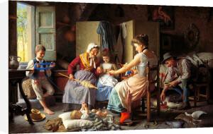 A Happy Family by Giovanni Battista Torriglia