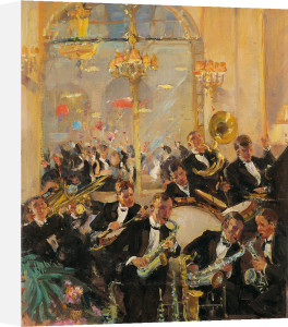 Jazz Band, Savoy Hotel, London by Harold Septimus Power