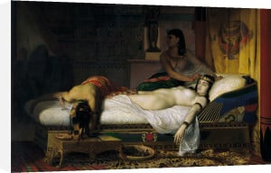 Death of Cleopatra, 1874 by Jean Andre Rixens