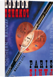 London Paris, Southern Railway by Margaret Bradley