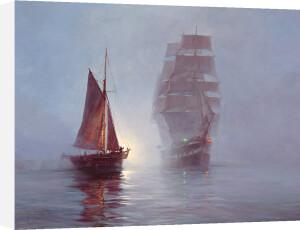 Night Mist by Montague Dawson