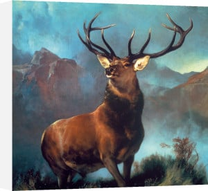 Monarch of the Glen by Sir Edwin Henry Landseer