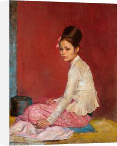 Burmese Silk by Sir Gerald Kelly