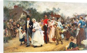 The Village Wedding by Sir Samuel Luke Fildes