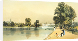 Horseguards and Company from St. James's Park by Thomas Shotter Boys