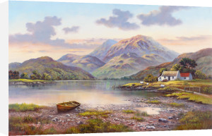 Mountain Loch by Wendy Reeves