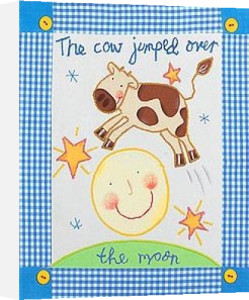 The cow jumped over the moon by Sophie Harding