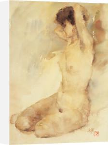 Bathing by Li Yajun