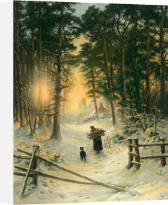 Gathering Winter Fuel by Joseph Farquharson
