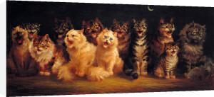 Cat's Chorus by Louis Wain