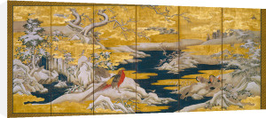 Japanese Screen II by Anonymous
