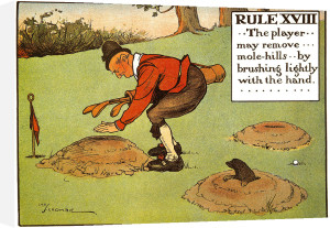 Rules of Golf - Rule XVIII by Charles Crombie