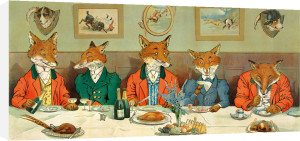 Mr Fox's Hunt Breakfast by Harry Neilson