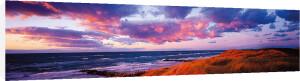 Sunset Beach by Bent Rej