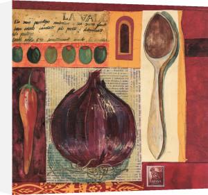Spanish Kitchen I by Liz Myhill