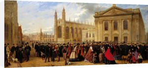 Degree Morning, Cambridge, 1863 by Robert Farren