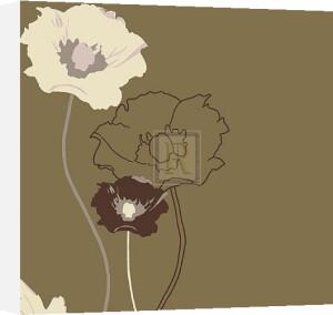 Golden Poppy I by Kate Knight