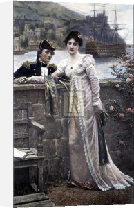 A Sailor's Farewell by Edmund Blair Leighton