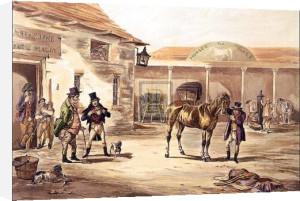 Horse Dealing II by Robert Richard Scanlan
