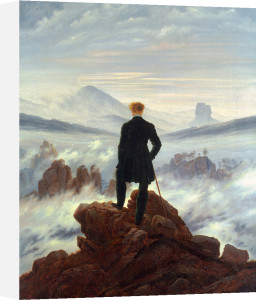 The Wanderer Above The Sea Of Clouds by Caspar David Friedrich
