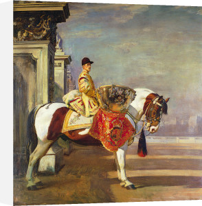 The Drum Horse by Sir Alfred Munnings
