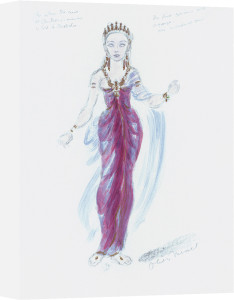 Designs For Cleopatra V by Oliver Messel