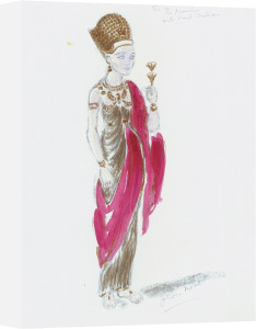Designs For Cleopatra XXV by Oliver Messel
