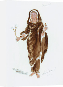 Designs For Cleopatra XLIV by Oliver Messel