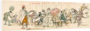 Grand Cafe De La Plage by Sem