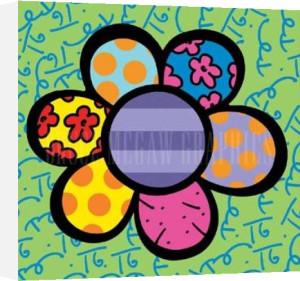 Flower Power IV by Romero Britto