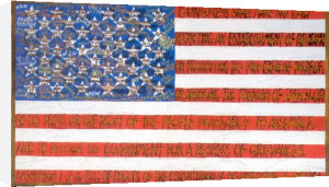 Freedom of Speech 41 by Faith Ringgold