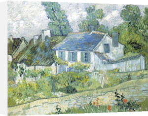 House at Auvers, 1890 by Vincent Van Gogh
